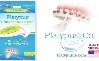 The Platypus Orthodontic Flosser
