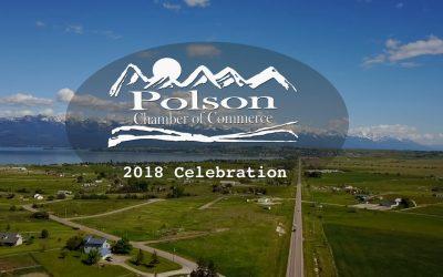 2018 Polson Chamber banquet interviews & Mountain Tops music video